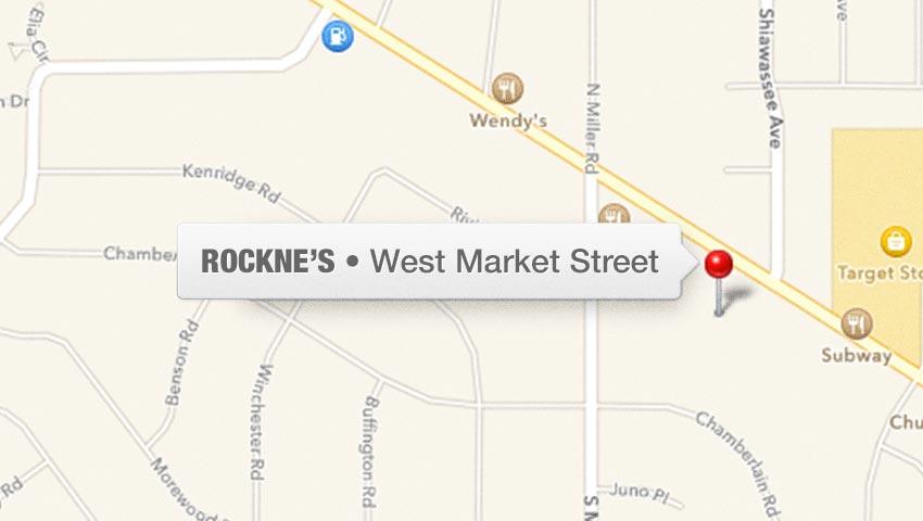 Fairlawn Ohio Map.Rockne S Locations Casual Dining Restaurant