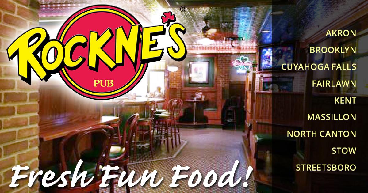 Rocknes Menu Casual Dining Restaurants