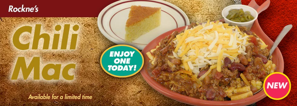 New Chili Mac - Available for a Limited Time