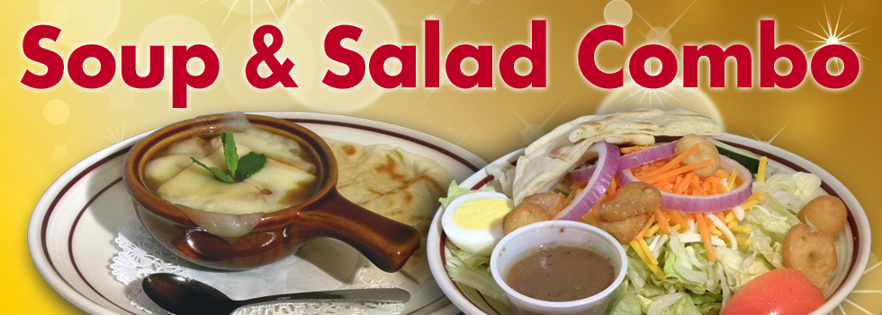 Rockne's Great Soup and Salad Combos - Yum!